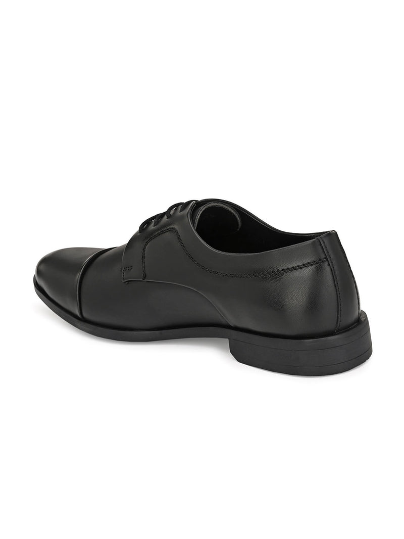 Commondo Black Oxford Shoes
