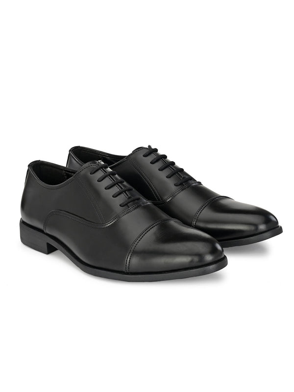Melvin Black Oxfords