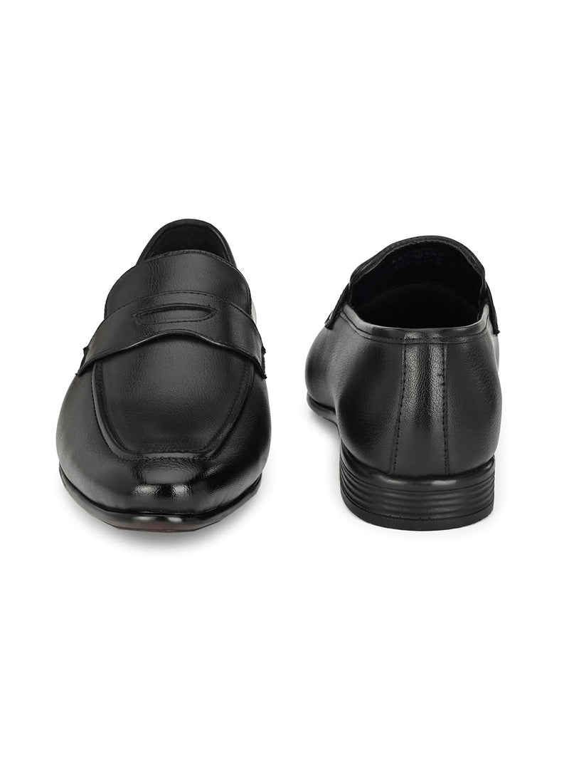 Pimp Black Penny Loafers
