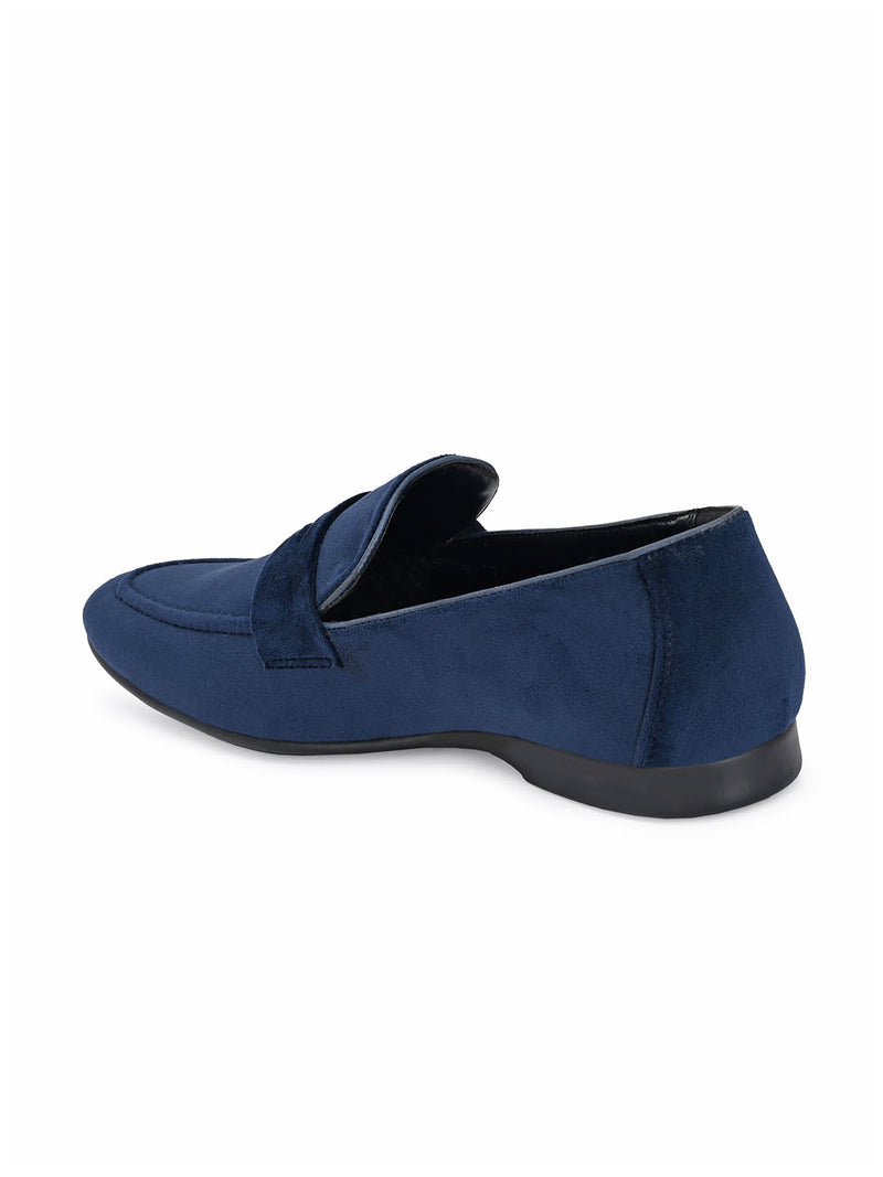 Baldwin Blue Penny Loafers
