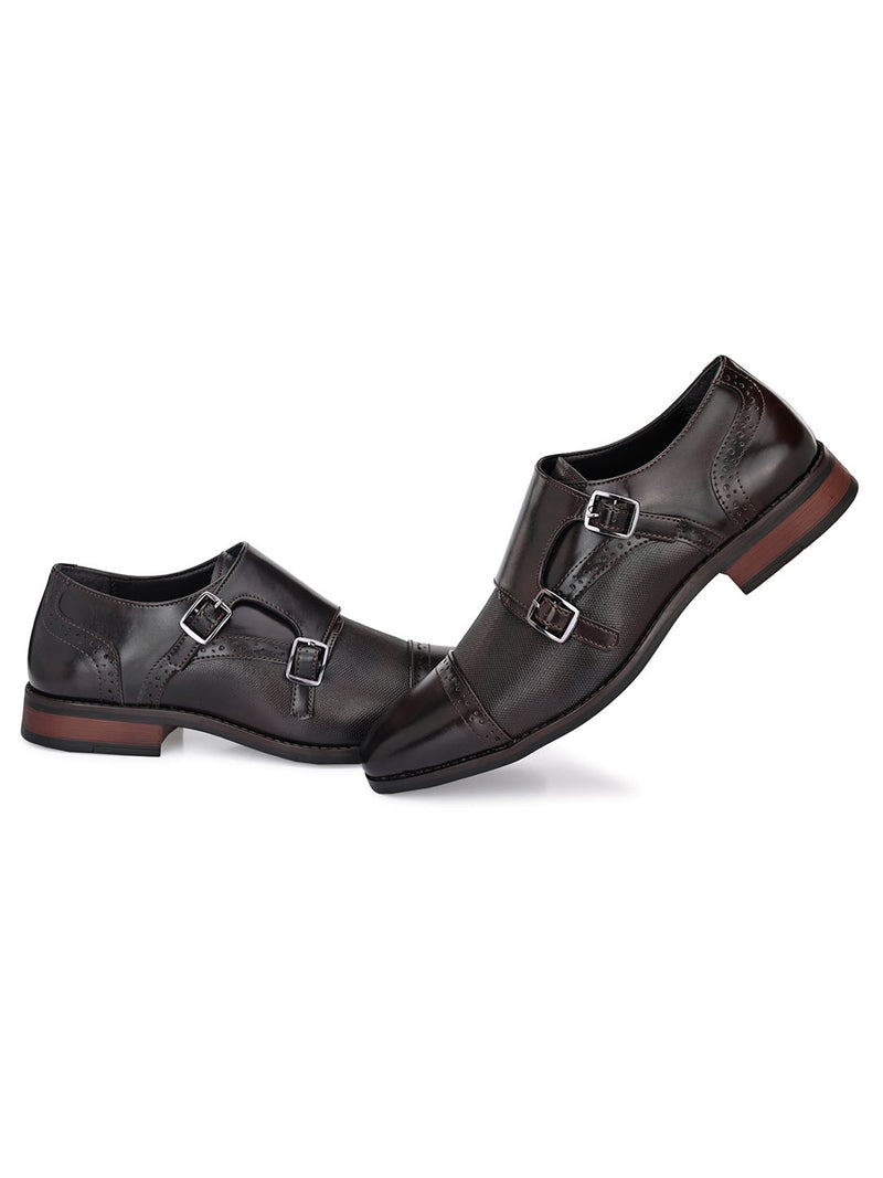 Mike Double Monk Strap Shoes