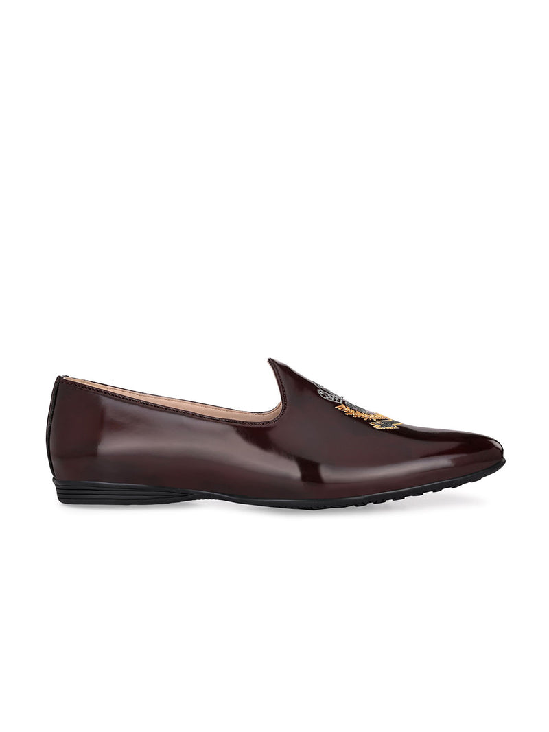 Genial Brown Slip-Ons