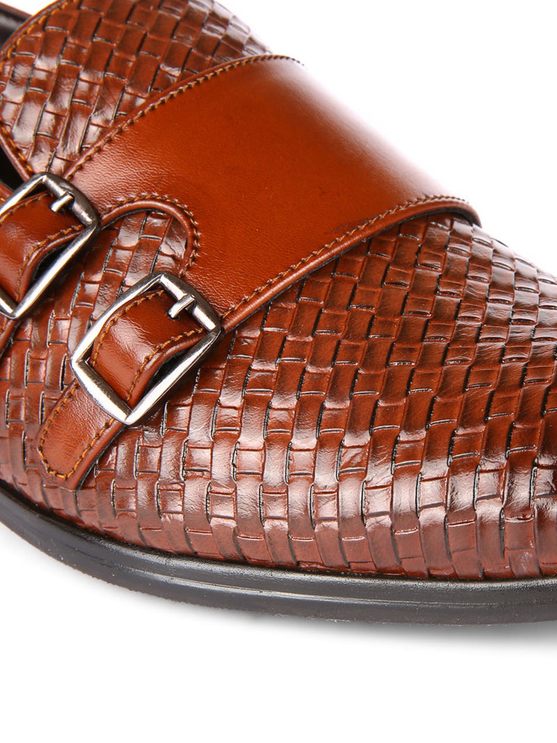Chatai Brown Monk-Strap
