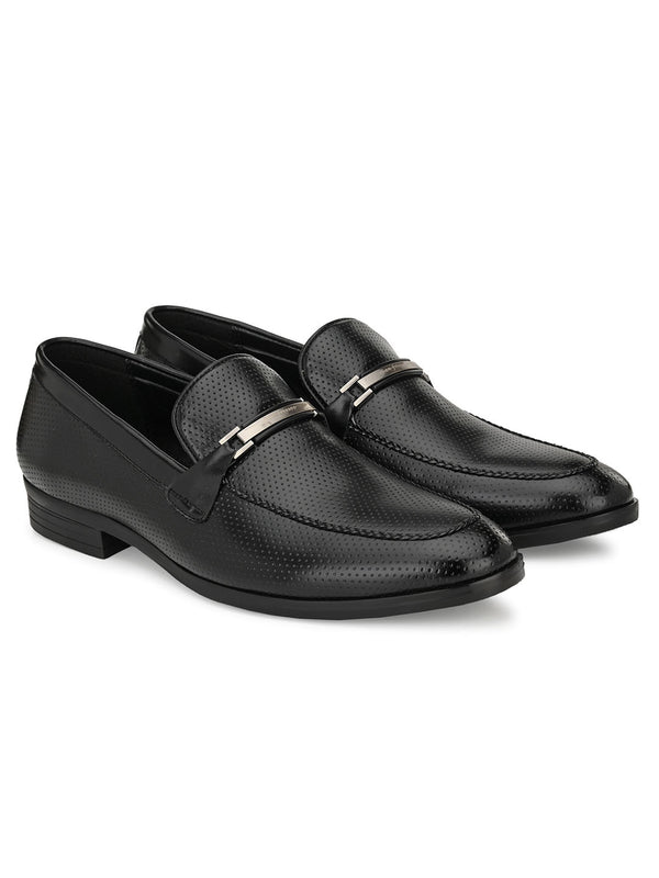 Fleck Black Loafer