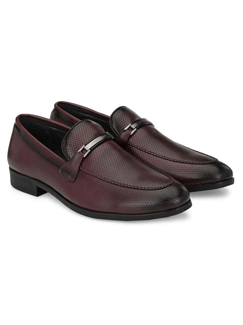 Fleck Cherry Loafers