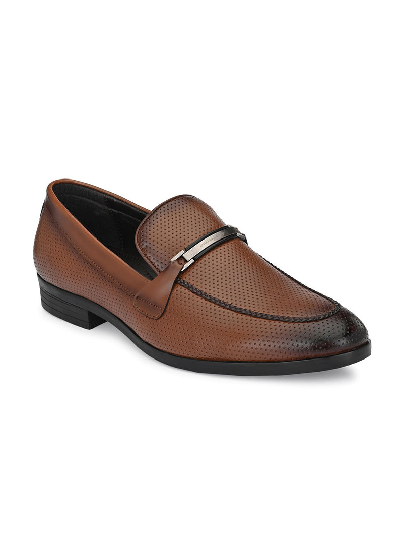 Fleck Tan Loafers