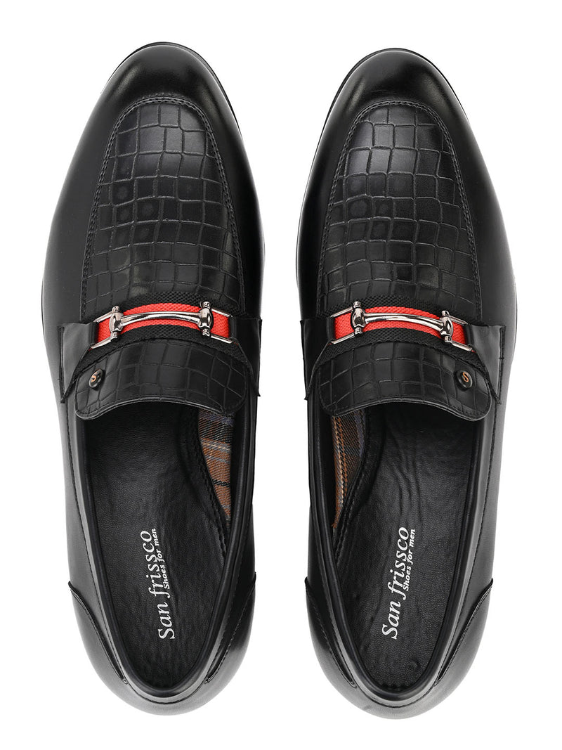 Rouge Black Moccasin