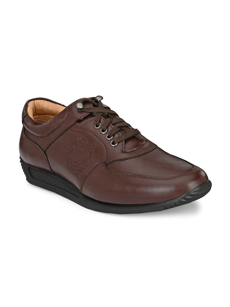 Clamor Brown Lace-Ups