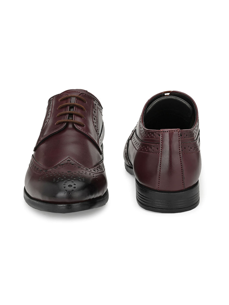 Libra Cherry Brogues