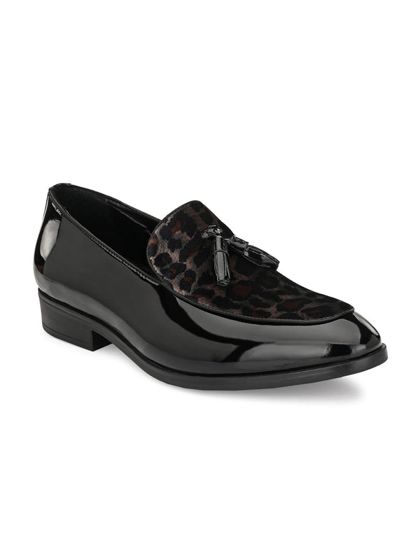 Panther Black Loafer