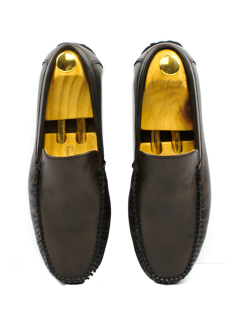 Suave Brown Loafers