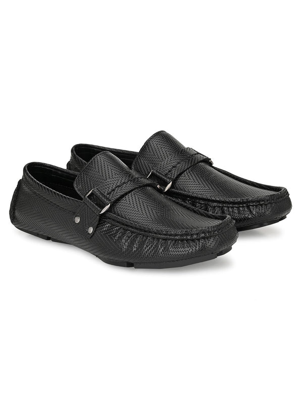 Frenzy Black Moccasins