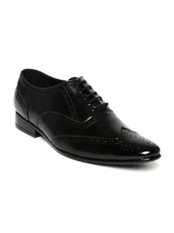 Black Formal Brogue Shoes