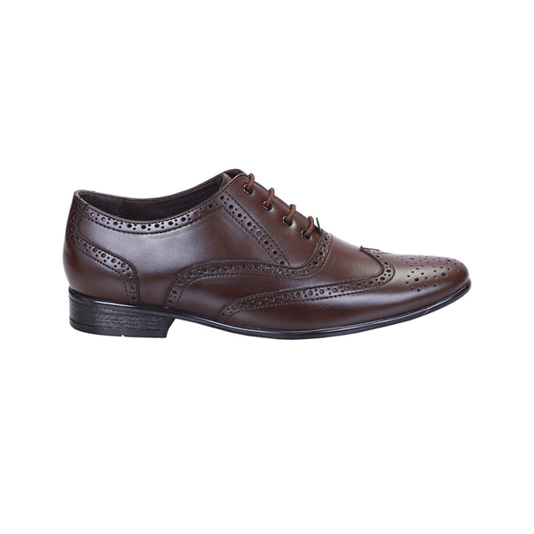 Brown Formal Brogue Shoes
