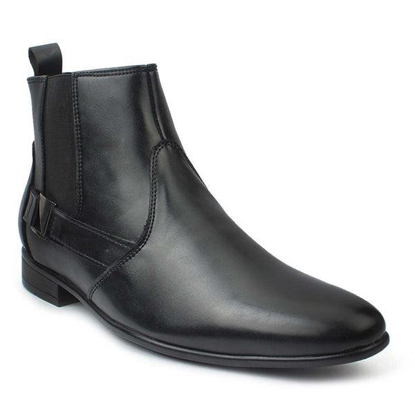 Black Chelsea Casual Boots