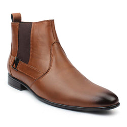 Tan Chelsea Casual Boots