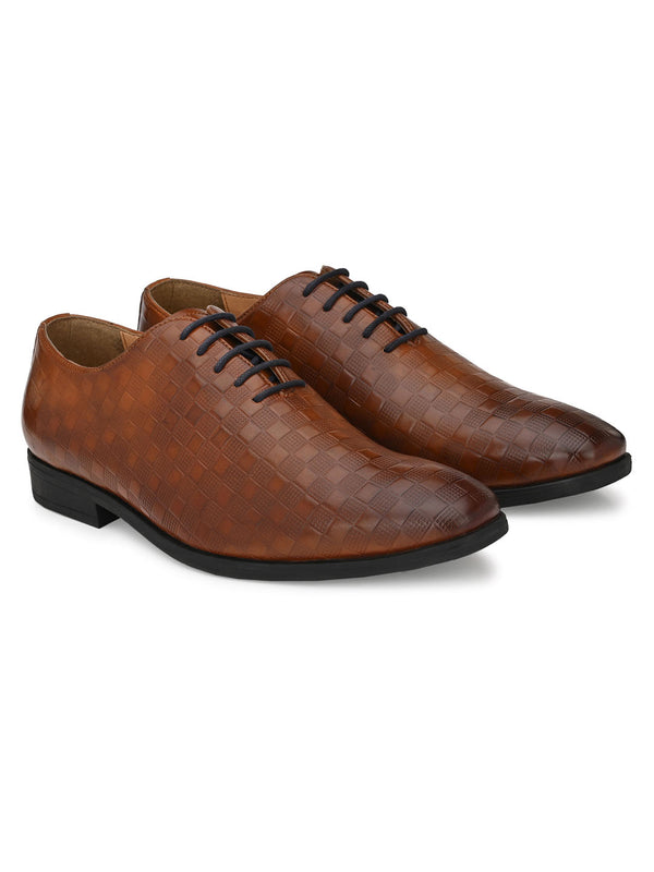 Checkmate Brown Lace-ups