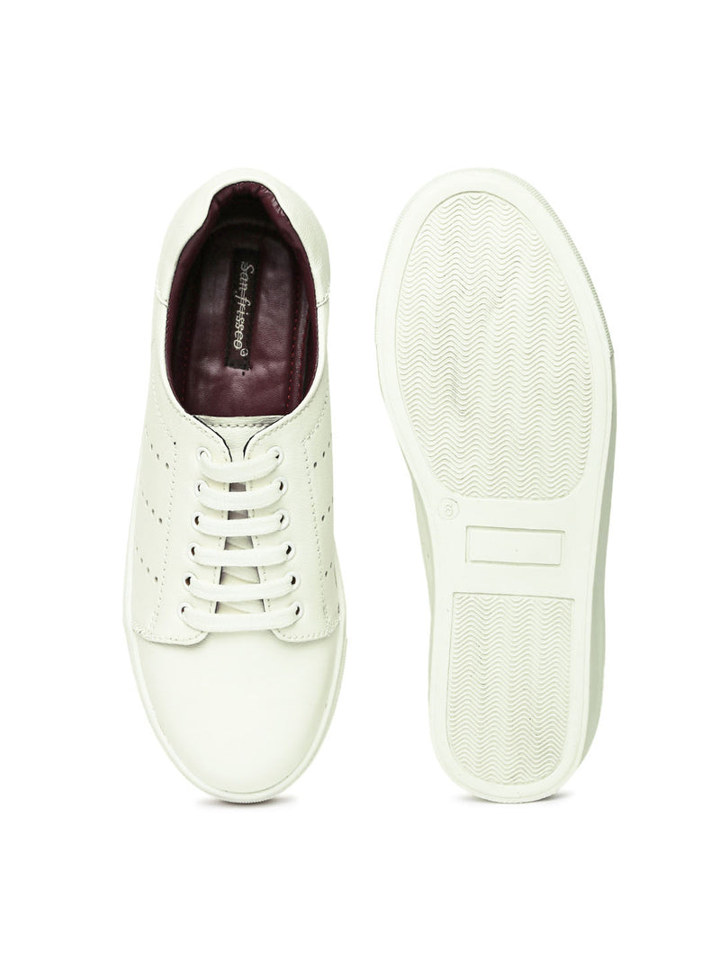white Sneakers for denims
