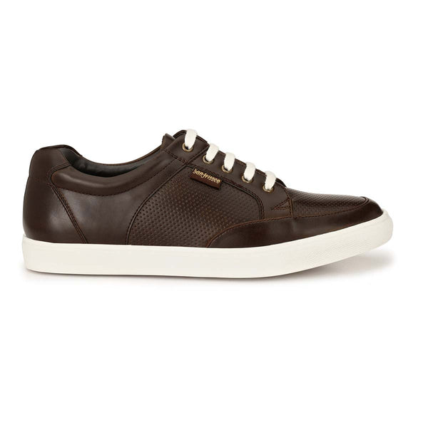 Brown Casual Lace-ups Sneakers