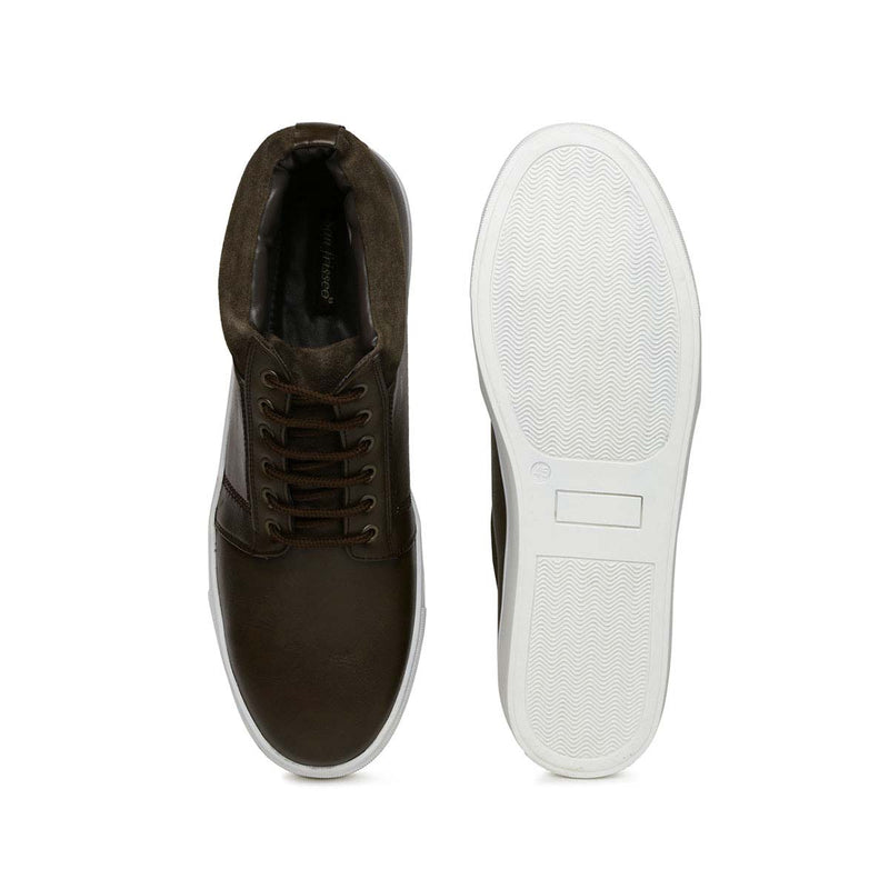 Hazzle High Ankle Lace-up Sneakers