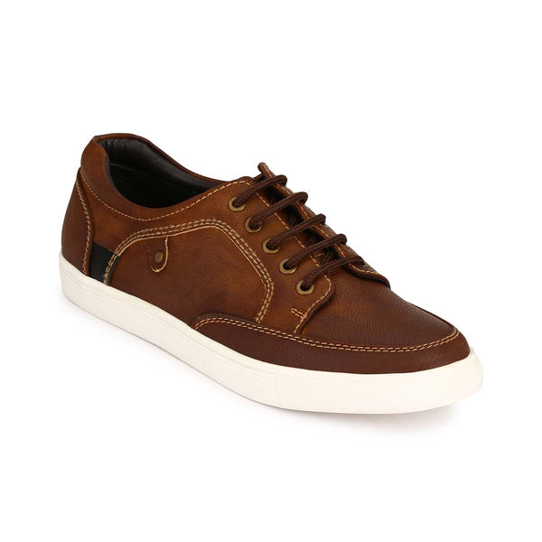 two tone tan brown Sneakers