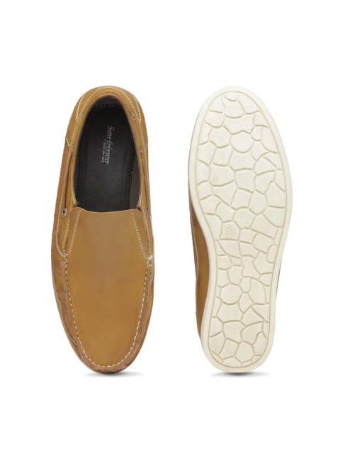 Tan Casual Driving shoes