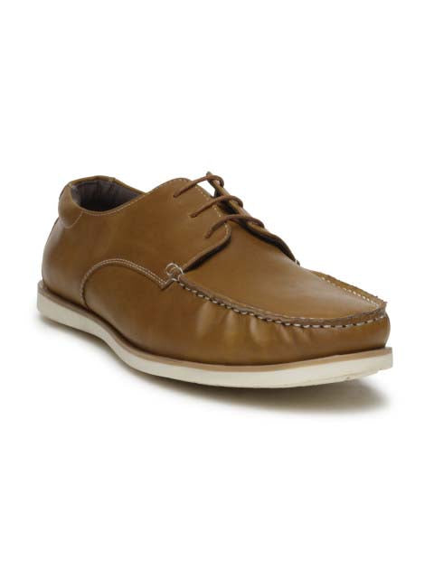 Tan Casual Lace-ups
