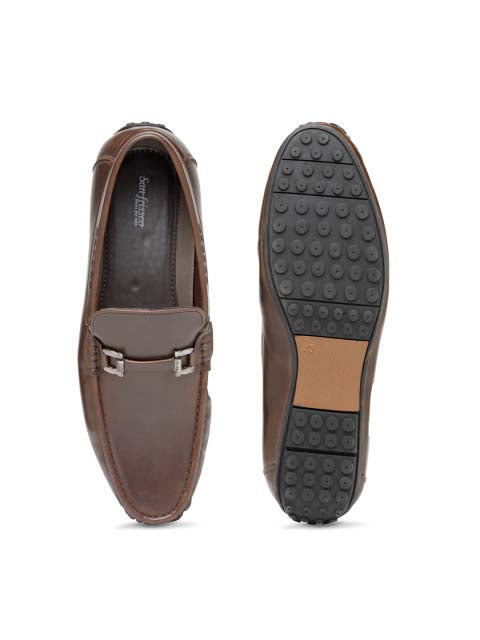 Brown Casual Loafers