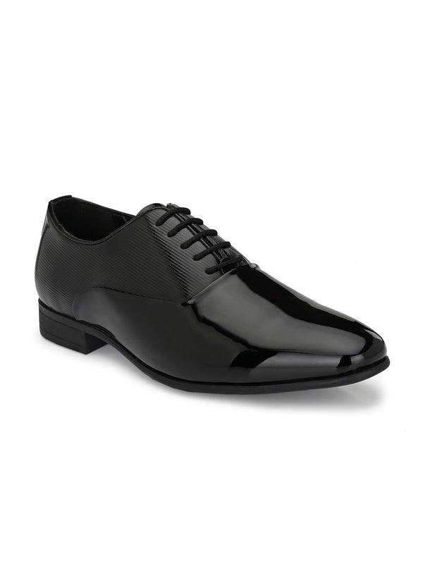 Roman Black Patent Oxfords