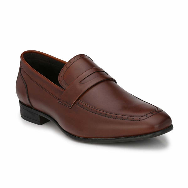 BrownFormal Slip-on