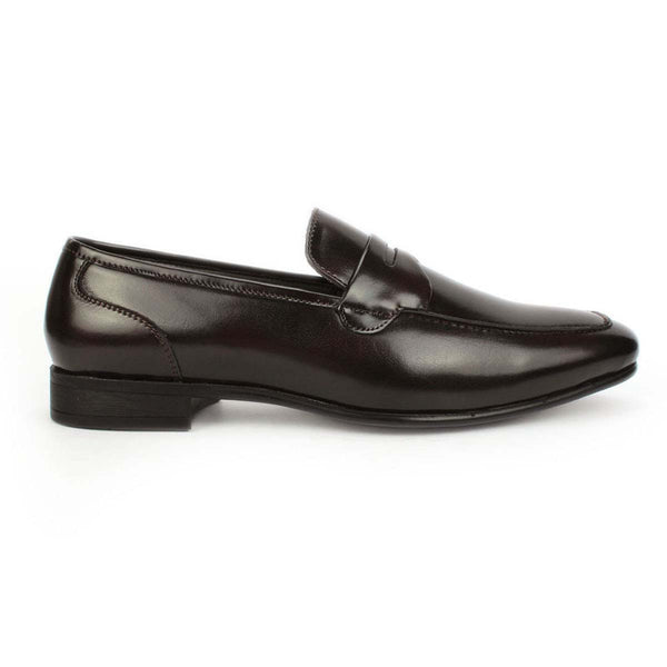 Brown Formal Slip-on