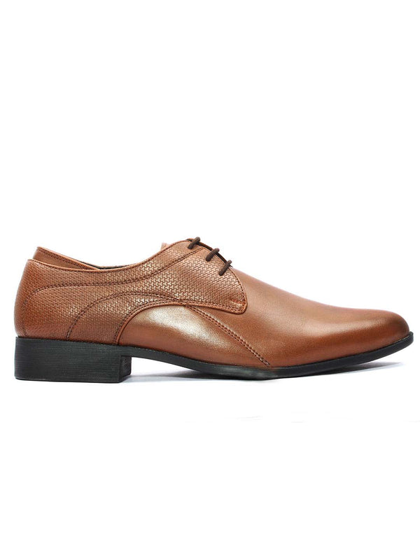 Tan Derby Lace-up Formals