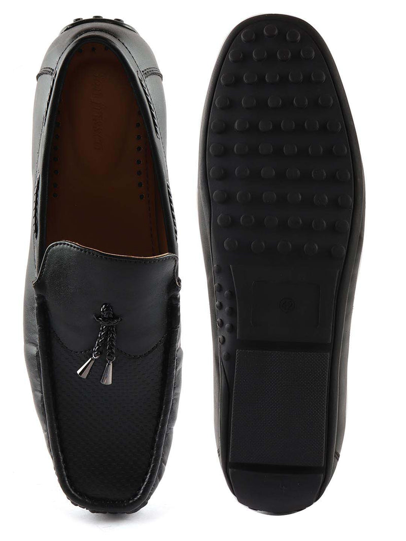 Black Casual Loafers