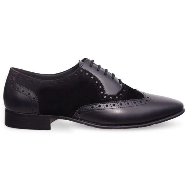 Black Casual Brogues