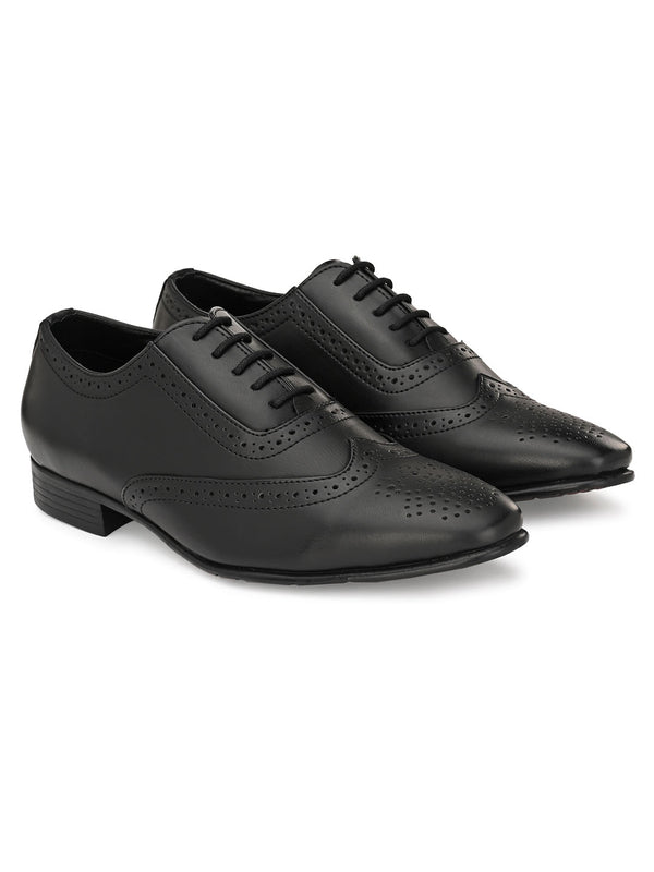 Corp Black Shortwing Brogues
