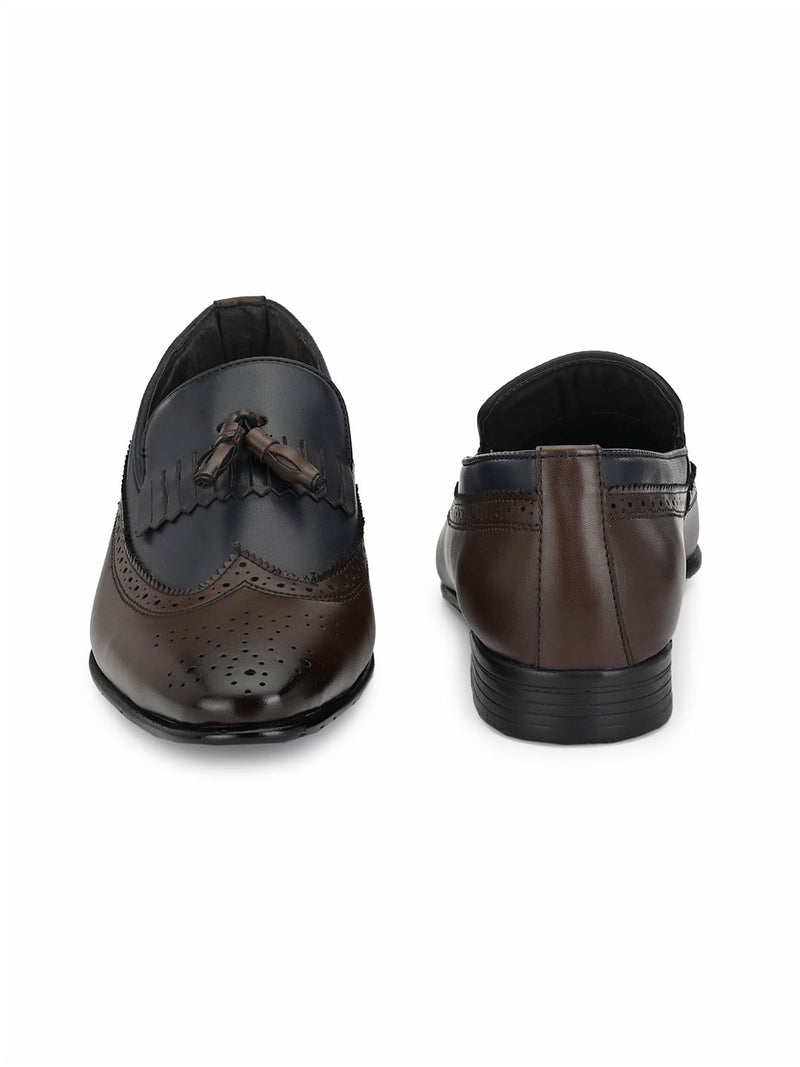 Kurt Kilt Brown Tassel Loafers