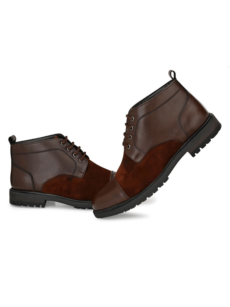 Diploid Brown Boots