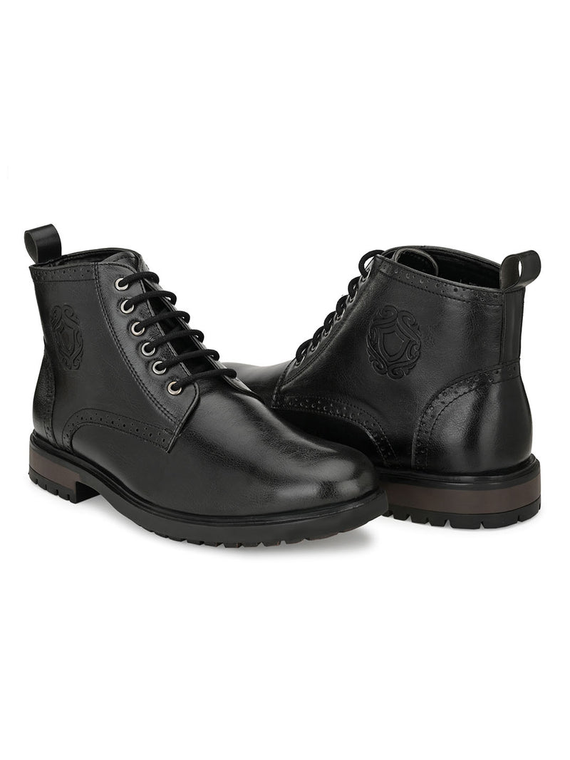 Cavalry Black Boots