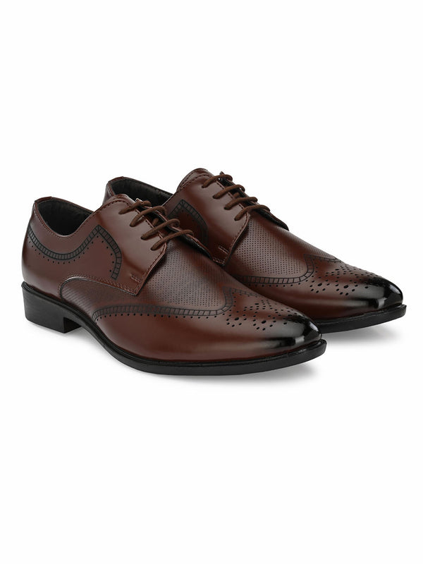 Bigshot Tan Brogue
