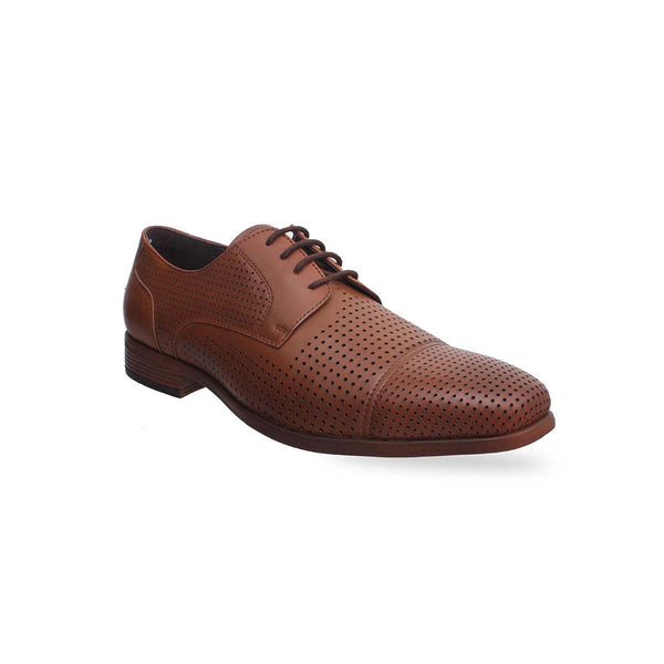 Tan Formal Lace-ups