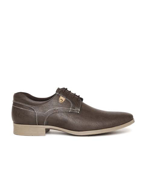 brown casual lace up