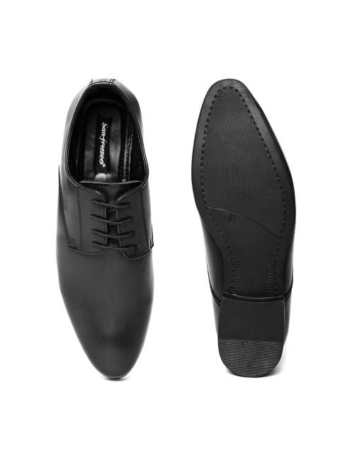 Black Derby Lace-up Formals
