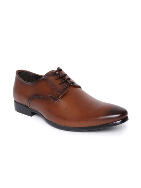 Cognac Derby Lace-up Formals