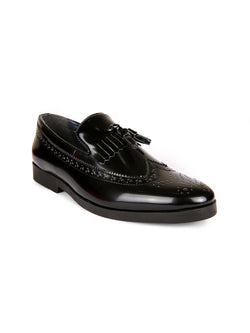 Mr.Chase Kilt Patent Loafers