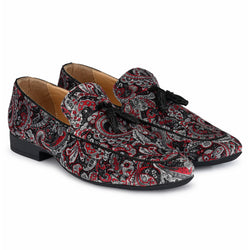 Cherry velvet  Loafers