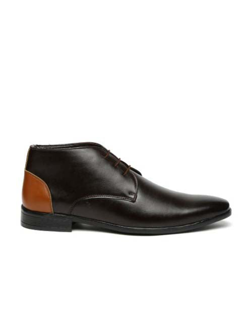 Brown Chukka Formal Boots