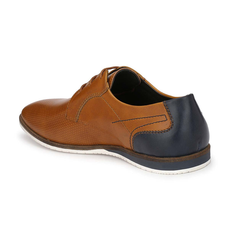Tan Derby Lace-ups