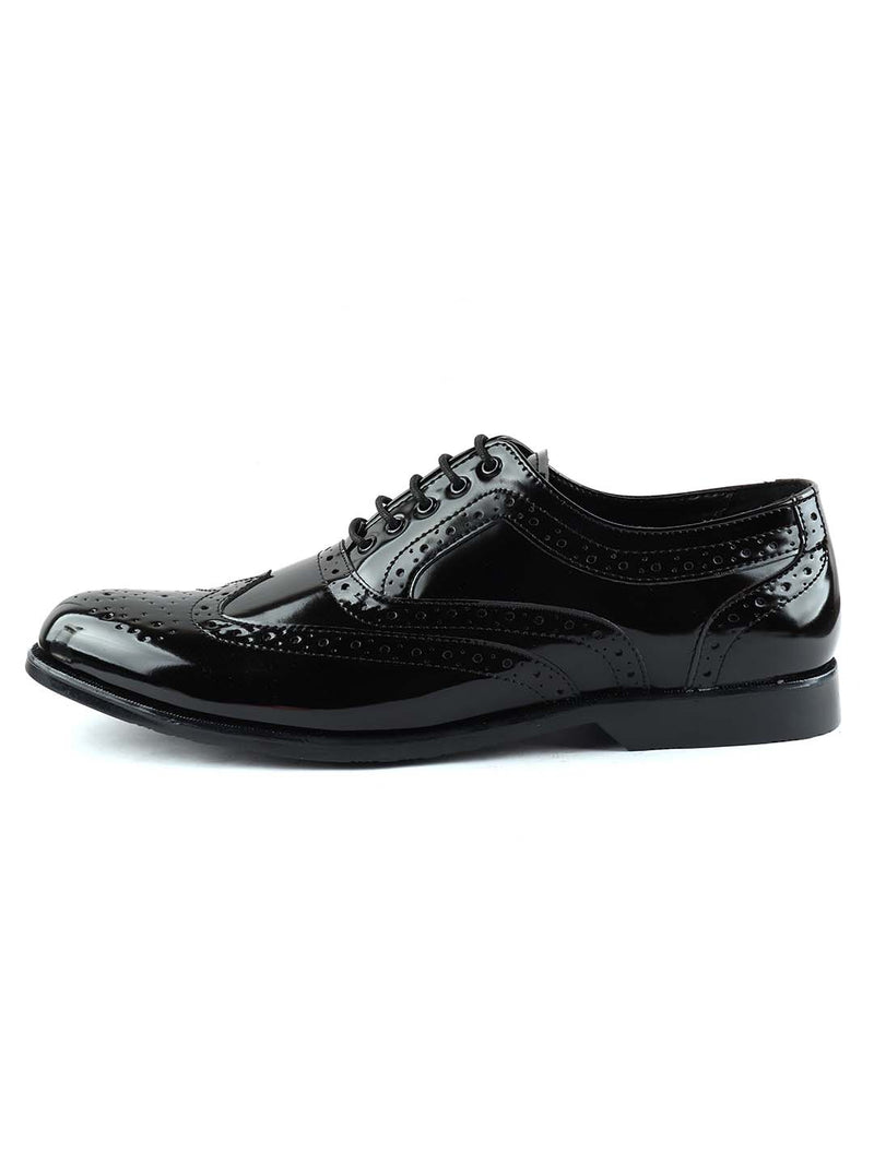 Black Formal Lace-ups