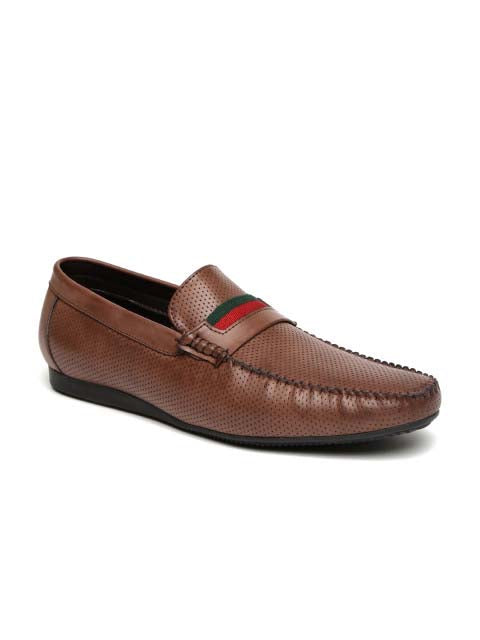 Brown modish Loafer