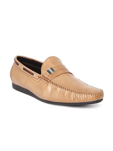 Camel Casual Loafers